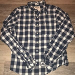 Abercrombie & Fitch button down. Size Large.